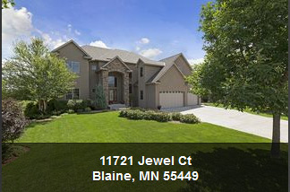 11721 jewel ct- blaine mn